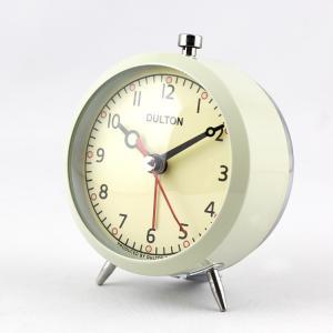 目覚まし時計 ダルトン アラームクロック Model 100-053Q アイボリー DULTON 置...