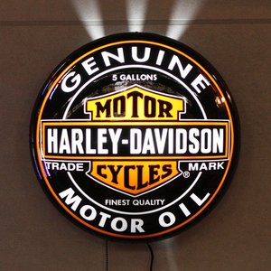 HARLEY-DAVIDSON ハーレーダビッドソン パブライトオイル缶 HDL-15619