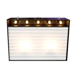 エレクトリックサインボード w/ライト Lサイズ(ブラック)高さ65×幅90cm 【メニューボード、店舗看板、カフェインテリア、アメリカン雑貨】 colour