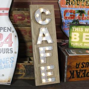LEDマーキーライト<CAFE>HTF-285 /HOUSE USE PRODUCT/インテリア照明...
