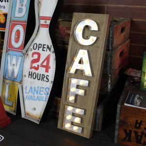 LEDマーキーライト<CAFE>HTF-285 /HOUSE USE PRODUCT/インテリア照明/フォントライト/オブジェ/アメリカン雑貨/|colour|03
