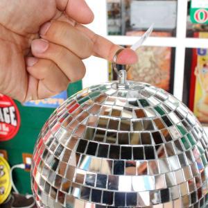 ミラーボール 直径20cm パーティグッズ ディスコボール インテリア クラブ バー パーティー アメリカ雑貨 アメリカン雑貨|colour|05