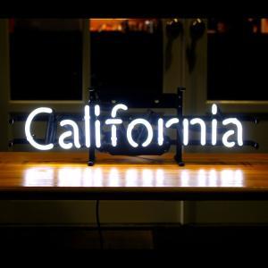 アメリカンネオンサイン CALIFORNIA カリフォルニア 文字デザイン 縦17×横53cm 西海岸 インテリア ガレージ ネオン管 店舗装飾 アメリカ雑貨|colour|02