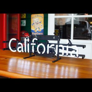 アメリカンネオンサイン CALIFORNIA カリフォルニア 文字デザイン 縦17×横53cm 西海岸 インテリア ガレージ ネオン管 店舗装飾 アメリカ雑貨|colour|06