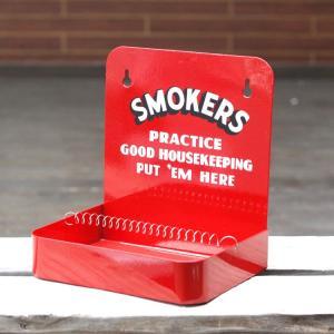 灰皿 スモーカーズアッシュトレイ (レッド) SMOKERS ASHTRAY 小物収納 トレイ アメリカ雑貨 アメリカン雑貨|colour