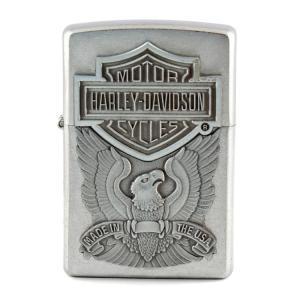ZIPPO ジッポーライター HARLEY-DAVIDSON EAGLE ハーレーダビッドソン オイルライター 喫煙具 コレクション アメリカ雑貨 アメリカン雑貨|colour
