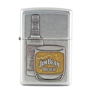 ZIPPO ジッポーライター JIM BEAM ボトル&グラス ジンビーム オイルライター 喫煙具 コレクション アメリカ雑貨 アメリカン雑貨|colour