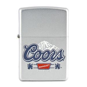 ZIPPO ジッポーライター Coor's BANQUET クアーズ オイルライター 喫煙具 コレクション アメリカ雑貨 アメリカン雑貨|colour