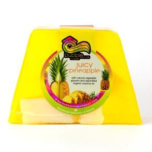 バブルシャックハワイ チャンクソープ (ジューシーパイナップル) /石鹸/ハンドメイドソープ/ハワイアン雑貨/|colour