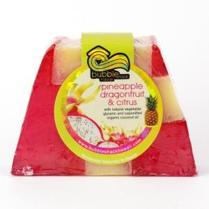 バブルシャックハワイ チャンクソープ (パイナップル ドラゴンフルーツ&シトラス) /石鹸/ハンドメイドソープ/ハワイアン雑貨/|colour