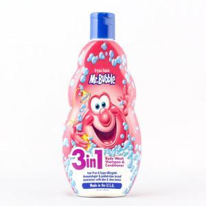 Mr.Bubble ミスターバブル 3in1 ジェル(オリジナル)473ml 16oz /ボディソープ・シャンプー・コンディショナー/アメリカン雑貨/|colour
