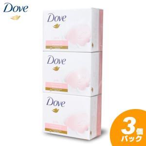 商品名:ダヴ(洗顔・洗浄料) 種類:ピンク 容量:100g ×3個 原産国:ドイツ 成分:ココイルセ...