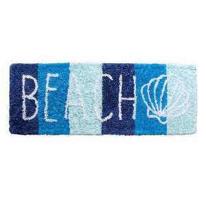 台所用品 キッチンマット BEACH 46×125cm PUAM-1635A コットン製 マルチマット ロングマット ハワイアン雑貨 アメリカ雑貨 colour