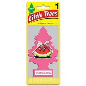 芳香剤 リトルツリー エアフレッシュナー「Water melon (ウォーターメロン)」 Little Trees  車用芳香剤 アメリカ雑貨 アメリカン雑貨|colour