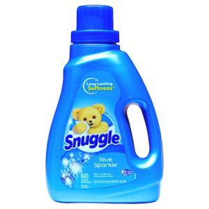 衣類用柔軟剤 Snuggle スナッグル柔軟剤 濃縮 ブルースパークル 1470ml / 50oz ...