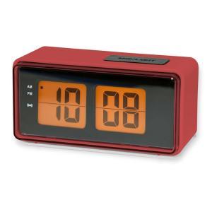 目覚まし時計 おしゃれ キッカーランド デジタル アラームクロック KAC25RD レッド KIKKERLAND 置き時計 インテリア アメリカ雑貨 アメリカン雑貨 colour