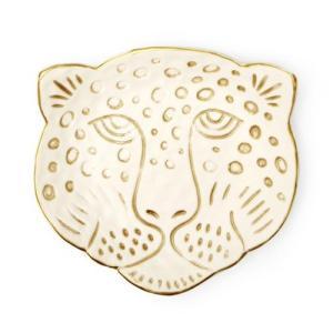 トレイ おしゃれ キッカーランド レオパード ヘッド キャッチオール Leopard Head Catch-All KIKKERLAND 小物入れ インテリア アメリカン雑貨|colour
