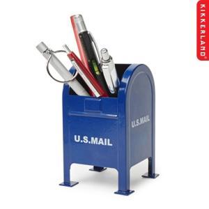ペン立て おしゃれ キッカーランド メールボックス ペンホルダー Mailbox Pen Holder KIKKERLAND ステーショナリー インテリア アメリカン雑貨|colour