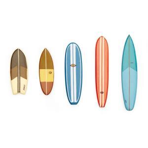 マグネット 磁石 キッカーランド サーフズアップ マグネット 5個セット MG88 KIKKERLAND サーフボード ステーショナリー 冷蔵庫マグネット アメリカン雑貨|colour
