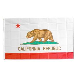フラッグ「California Republic」90×150cm(カリフォルニアリパブリック)旗 タペストリー ナイロン製 アメリカ アメリカン雑貨 colour