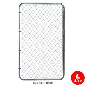 直輸入アメリカンプロダクト カリフォルニアフェンス:ガルバナイズド(LARGE : 183×107cm) 外壁/DIY/ガレージング/エクステリア/アメリカン雑貨/アメ雑|colour