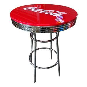 COCA-COLA BRAND コカコーラブランド ハイテーブル 「Coke HI-Table」 PJ-200T 【インテリア、家具、コーラ雑貨、アメリカン雑貨】|colour