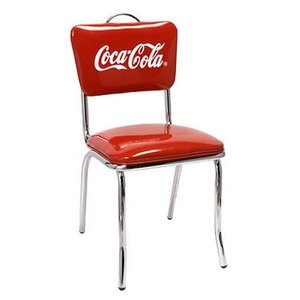 COCA-COLA BRAND コカコーラブランド Vバックチェア「Coke V-Chair」 PJ-50HC 椅子|colour