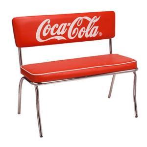 COCA-COLA BRAND コカコーラブランド ベンチシート「Coke Bench Seat」 PJ-120C チェア イス 椅子|colour