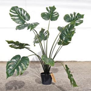 造花 モンステラ 80952 高さ約100cm ハワイアン インテリア 観葉植物 アメリカン雑貨 colour