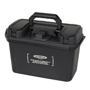 工具箱 ダルトン ポータブル ストレージボックス ブラック H19-0009BK DULTON フタ付き 収納ケース おしゃれ インテリア雑貨 アメリカ雑貨 colour