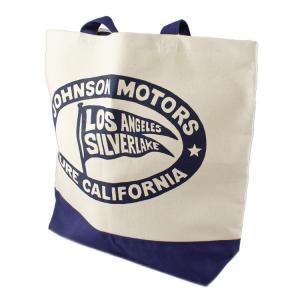 トートバッグ ジョンソンモータース トートバッグ LOS ANGELS アメリカ製 JOHNSON MOTORS CALIFORNIA アメリカ雑貨 colour
