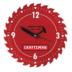 "【CRAFTMAN】クラフトマン 10""ショップクロック"