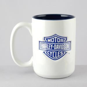 マグカップ 陶器製 ハーレーダビッドソン エンボスマグカップ #1 Harley-Davidson ライダー ギフト プレゼント アメリカ雑貨 アメリカン雑貨|colour|02