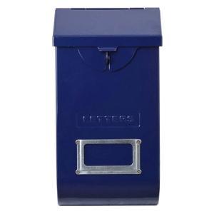 DULTON ダルトン メールストレージボックス ネイビー 118-335NV 郵便受け ポスト メールボックス エクステリア アメリカ雑貨 colour