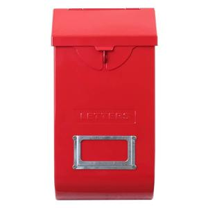DULTON ダルトン メールストレージボックス レッド 118-335RD 郵便受け ポスト メールボックス エクステリア アメリカ雑貨 colour
