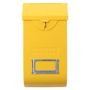 DULTON ダルトン メールストレージボックス イエロー 118-335YL 郵便受け ポスト メールボックス エクステリア アメリカ雑貨 colour