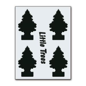 転写シール リトルツリー カットアウトステッカー SET-2 ブラック Little Trees 蒔絵シール アメリカ雑貨 アメリカン雑貨|colour