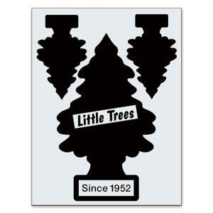 転写シール リトルツリー カットアウトステッカー SET-1 ブラック Little Trees 蒔絵シール アメリカ雑貨 アメリカン雑貨|colour