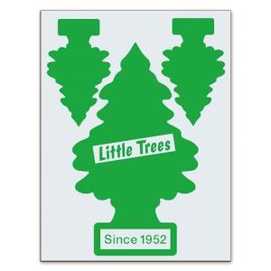 転写シール リトルツリー カットアウトステッカー SET-1 グリーン Little Trees 蒔絵シール アメリカ雑貨 アメリカン雑貨|colour