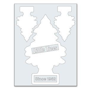 転写シール リトルツリー カットアウトステッカー SET-1 ホワイト Little Trees 蒔絵シール アメリカ雑貨 アメリカン雑貨|colour