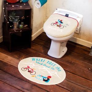 トイレ用品 Cozydoors コージードアーズ トイレ2点セットCycling 洗浄・暖房用トイレ...