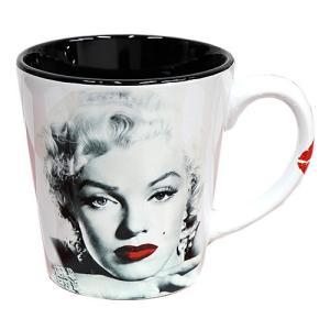 マグカップ マリリン・モンロー 12oz 355ml Red Lips White (Y5096) コーヒー ティーカップ アメリカ雑貨 アメリカン雑貨|colour