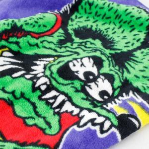 フェイスタオル Rat Fink ラットフィンク MAZOOMA! STPRF004 34×80cm 綿100% スポーツ アメリカ雑貨 アメリカン雑貨|colour|02