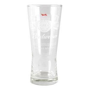 グラス バドワイザー ビアグラス Budweiser 355ml 12オンス タンブラー 食器 ガラス製 アメリカ雑貨|colour