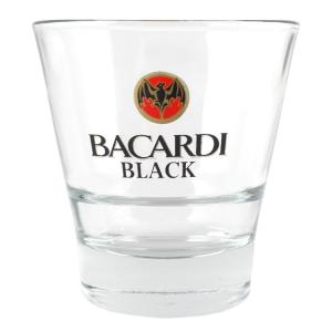 ロックグラス バカルディ BACARDI 355ml 12オンス ウイスキーグラス 食器 ガラス製 バーグッズ アメリカ雑貨|colour