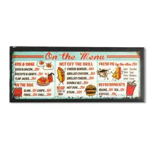 USエンボスマグネット MENU H3.3cm×W7.8cm 磁石 冷蔵庫マグネット ステーショナリー アメリカ雑貨|colour