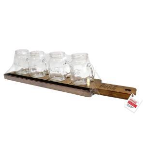 グラスセット コカ・コーラ テイスティング フライト セット 4オンス (140ml×4)Coca-Cola 123470 飲み比べセット ホームパーティ アメリカ雑貨|colour