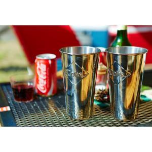 ステンレスカップ コカ・コーラ 30オンス 887ml モルトカップ with エンボスロゴ Coca-Cola CC64E サンデーカップ アメリカンダイナー アメリカ雑貨 colour 04