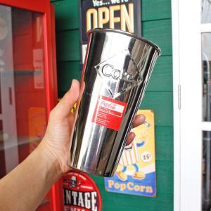 ステンレスカップ コカ・コーラ 30オンス 887ml モルトカップ with エンボスロゴ Coca-Cola CC64E サンデーカップ アメリカンダイナー アメリカ雑貨 colour 05