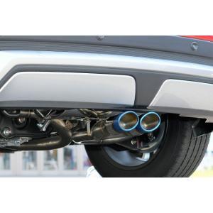 コルトスピード (COLT SPEED) エクリプスクロス ガソリンエンジン GK1W 全グレード(2WD,4WD)用 SUPER STAINLESS MUFFLER スーパーステンレスマフラー|colt-speed